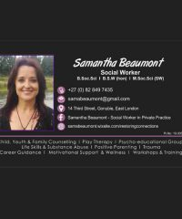 Samantha Beaumont – Social Worker in Private Practice